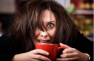 Give me coffee and no one gets hurt! Haha...Mwahaha...MWAHAHAHA.